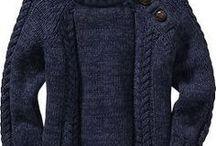 croche trico para Homem♥