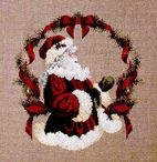 Christmas Cross Stitch / Christmas themed cross stitch patterns / by Rosie Trouble-Harris
