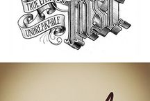 Typography & Letters