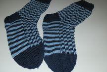 Villasukkia / Oma kutomani sukat ia muidenkin sukkia