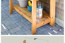 Potting Sheds & Benches