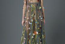 flower in dress