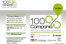 Il packaging sostenibile di 100% Campania / il #packaging che nasce dal #macero e crea #valore per il #territorio