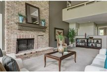 Fireplaces / Beautiful fireplaces in the home.