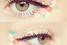 Flower/eye make