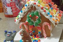 ginger bread houses / by One Crafty Mumma