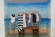 stripe collection navy