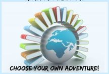 Travel the World in Books Reading Challenge / Post your Travel the World in Books reading challenge goal posts and book reviews to our group board. Pin your books read to our map and share your travels! / by Tanya @ Mom's Small Victories