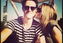 Bridgit Mendler and Shane Harper