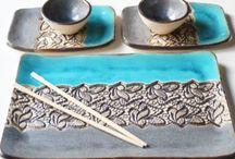 Platos en Ceramica gres
