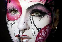 Make-up: Geisha