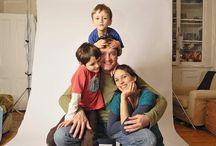 Familiefoto inde