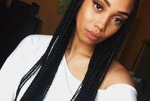 Hairstyles: braids