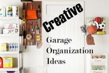 garage organizing / by Jan Cooke