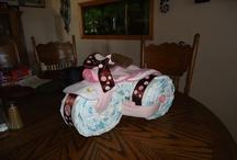 Crafts / Diaper Three Wheeler / by Renita Muringer
