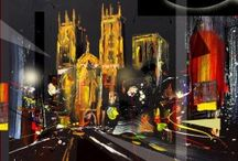 According to McGee, Richard Barnes: Contemporary Cityscapes / Contemporary Paintings of York. Contemporary Settings.
