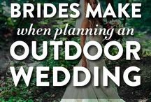 Outdoor Wedding Planning