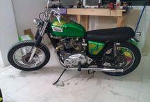 Makis Kotsotas / Bonneville T140 custom