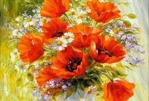 Картины, цветы