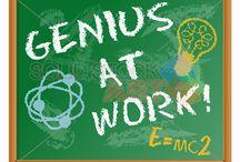 Geniuuus / genius, artists, scientists, author