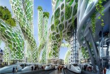 Visions of  the future, hope for the future / Environment, hope and green technologi.