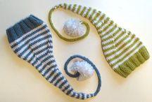 Newborn knitting