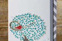 Thoughtful Branches Bundle / Handmade cards and projects made with the Thoughtful Branches Bundle. Available August 2-31, 2016 from Stampin' Up!