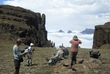 The Madonna & her worshippers, Drakensberg