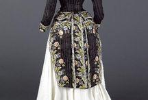 1880's skirts