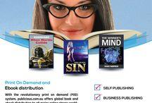 Print On Demand and Ebook Distribution