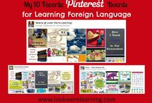 Homeschool- Foreign Language / We have so many options as homeschoolers to teach a foreign language. Hope you can find so great helps here!