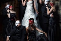 Masquerade themed wedding by Anna
