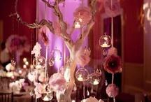 Hanging Glass Tealight Deco