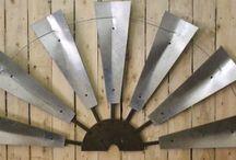 Rustic Windmills