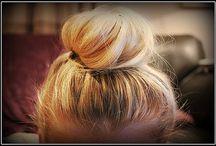 Little girl hair / by Rachel Ricke