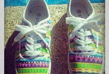 zapatillas étnicas