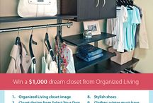 My Organized Closet / My style is classic, conservative and predictable. #organizedliving and #organizedcloset