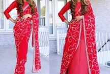 Nivi drape vs Cancan saree drape