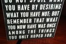 quotes / by Kacey Rasgorshek