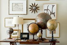 Wall Decor Inspirations / Inspirations of beautiful and fun wall decor in any room of the house.