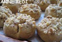 cevizli Tahinli kurabiye