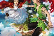 illustration【fairy tale】