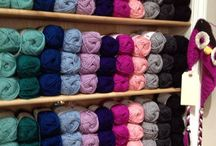 Wooly Worsted Yarn + Patterns / Ewe Ewe Wooly Worsted Yarn and Patterns for Knitting and Crocheting