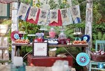 Americana Style Inspiration / Hudson Valley Weddings, Catskills Weddings / Inspiration from Hudson Valley Vintage Rentals. Rustic Weddings, Vintage Weddings, Boho Weddings, Eclectic Weddings, Country Weddings.