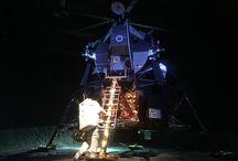 Lunar Landing Inspiration Board / Cradle of Aviation Museum - Garden City, NY