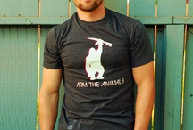 Men's Vegan Tee Time! / Make a statement when you wear one of these men's vegan t-shirts around!