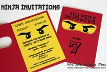 Ninja Birthday Party / by Stay at Home Territory