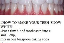 White teeth DIY