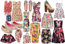 Floral prints, best fashion and style with floral prints / Florals and floral prints. Best floral print dresses. Best fashion and style with floral prints.