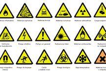 SEÑALES DE PREVENCION / Señales descriptivas de señales que pueden ayudar a prevenir diferentes accidentes